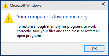 If Your Computer is Low On Memory on Window 10! How to Fix it? - Office.com-setup.com Blogs